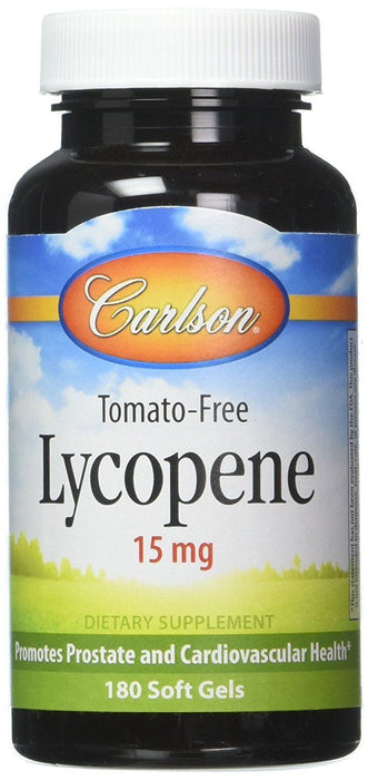 Lycopene 15 mg - 180 Softgels
