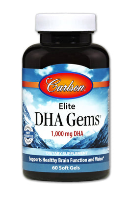 Elite DHA Gems - 60 Softgels