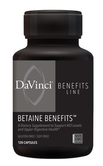 Betaine Benefits - 120 Capsules