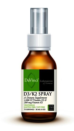 D3/K2 Spray - 75 Servings