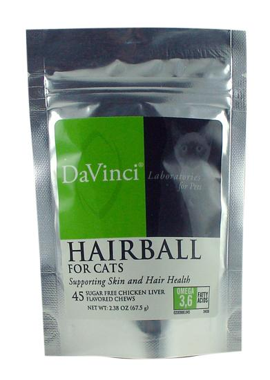 Hairball for Cats - 45 Chewable Tablets