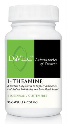 L-Theanine 200 mg - 30 Vegetarian Capsules