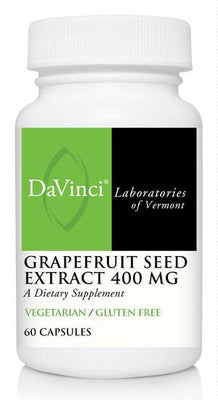 Grapefruit Seed Extract 400 mg - 60 Vegetarian Capsules
