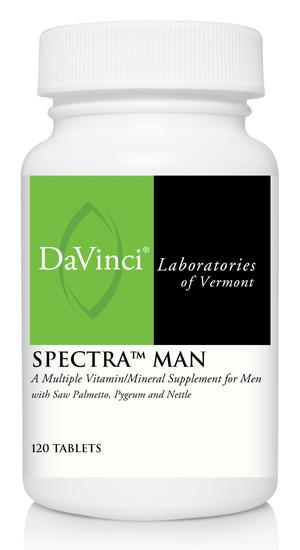 Spectra Man - 120 Vegetarian Tablets