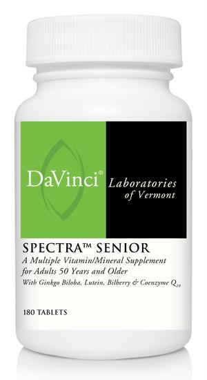 Spectra Senior - 180 Vegetarian Tablets