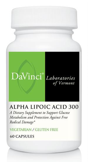 Alpha Lipoic Acid 300 mg - 60 Vegetarian Capsules