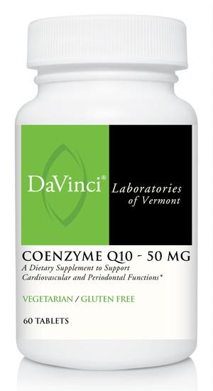 CoEnzyme Q10 50 mg - 60 Vegetarian Tablets