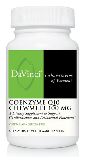 CoEnzyme Q10 Chewmelt 100 mg - 60 Chewable Tablets