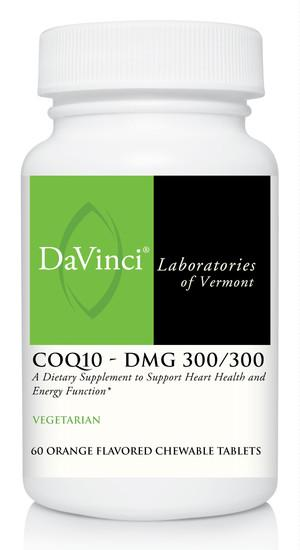 CoQ10 - DMG 300/300 Orange - 60 Chewable Tablets