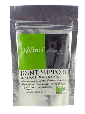 Joint Support Cats & Small Dogs - 45 Chewable Tablets