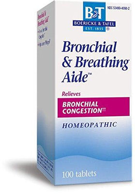 Bronchial & Breathing Aide - 100 Tablets