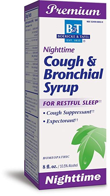 Nighttime Cough & Bronchial Syrup - 8 oz