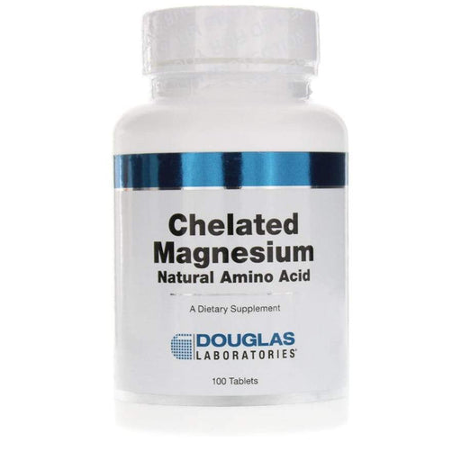 Chelated Magnesium 100 mg - 100 Tablets