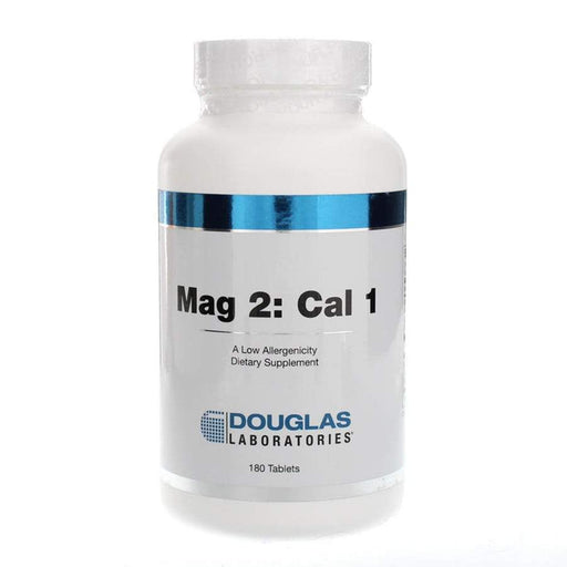 Mag 2: Cal 1 - 180 Tablets