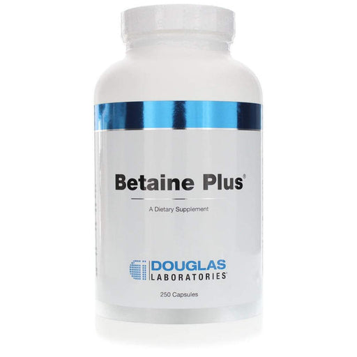 Betaine Plus 650 mg - 250 Capsules