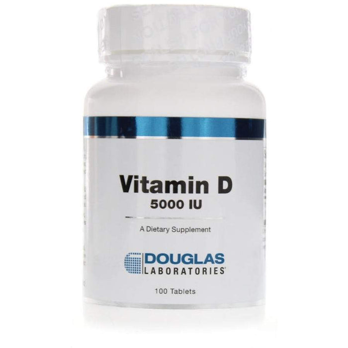 Vitamin D 5,000 IU - 100 Tablets