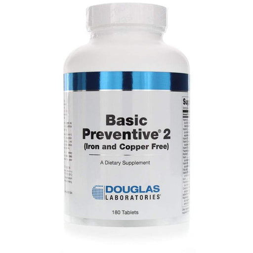 Basic Preventive 2(FE&CU free) - 180 Tablets