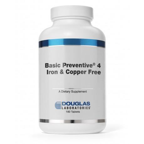 Basic Preventive 4 (FE&CU free) - 180 Tablets