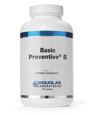 Basic Preventive 5 Iron-Free - 180 Tablets
