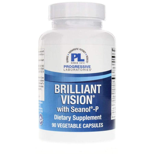 Brilliant Vision with Seanol-P - 90 Vegetarian Capsules