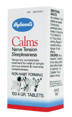 Hyland's Calms - 100 Tablets