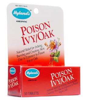 Hyland's Poison Ivy/Oak - 50 Tablets