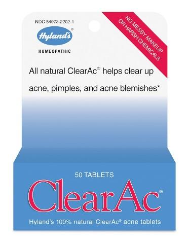 Hyland's ClearAc - 50 Tablets
