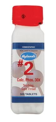 Hyland's Calc. Phos. 30X - 500 Tablets
