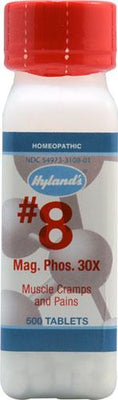 Hyland's Magnesia Phos. #8 30X - 500 Tablets