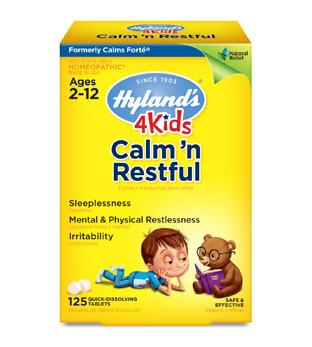 Hyland's 4 Kids Calm 'n Restful - 125 Tablets
