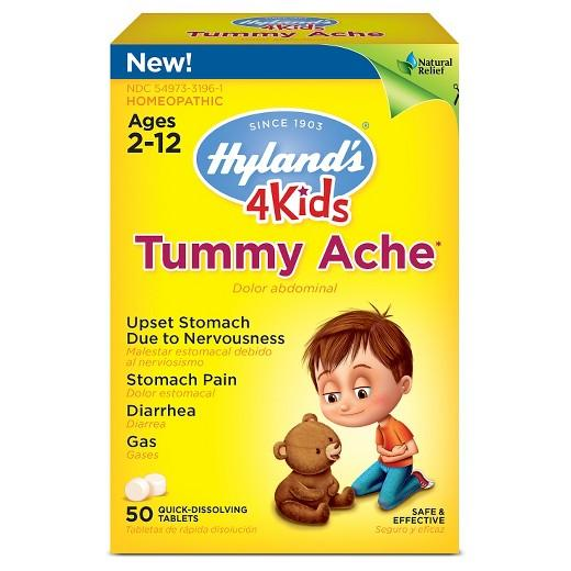 Hyland's 4 Kids Tummy Ache - 50 Tablets
