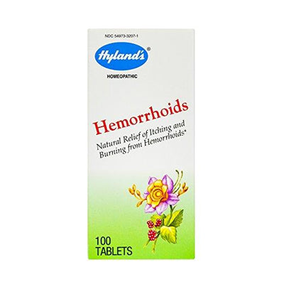 Hyland's Hemorrhoids - 100 Tablets