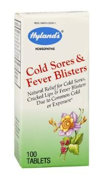 Hyland's Cold Sores/Fever Blisters - 100 Tablets
