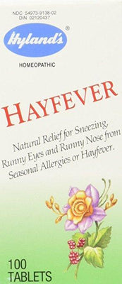 Hyland's Hay Fever - 100 Tablets