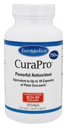 CuraPro 750 mg - 120 Softgels