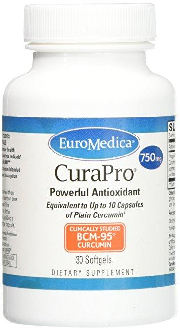 CuraPro 750 mg - 30 Softgels