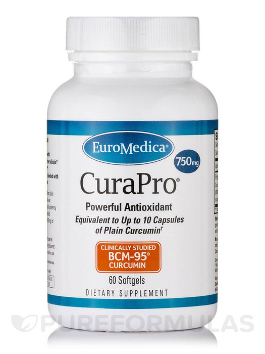 CuraPro 750 mg - 60 Softgels