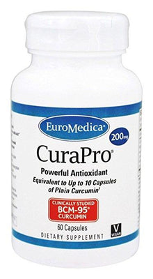 CuraPro 200 mg - 60 Capsules
