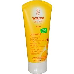 Calendula Shampoo and Body Wash - 6.8 oz