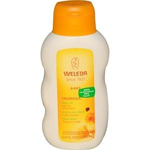 Calendula Baby Oil -  6.8 oz
