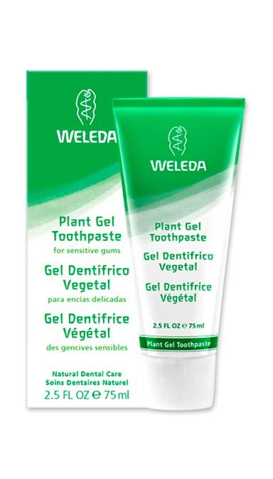 Plant Gel Toothpaste - 2.5 oz