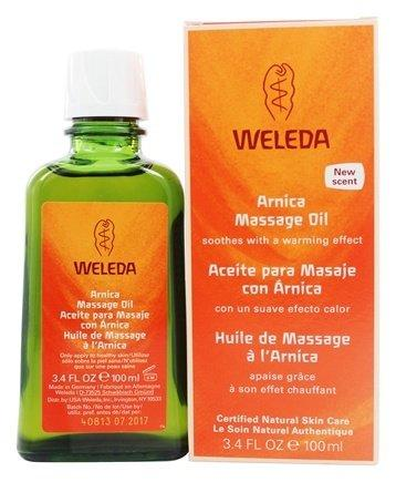 Arnica Massage Oil - 3.4 oz