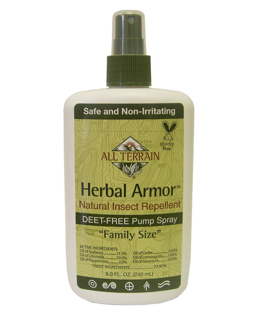 Herbal Armor Insect Repellent Spray - 8 oz