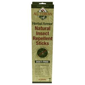 Herbal Armor Insect Repellent Sticks - 10 Sticks