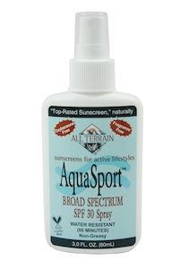 AquaSport SPF30 Sunscreen Spray - 3 oz