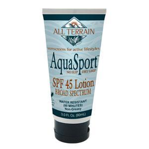 AquaSport SPF45 Sunscreen Lotion - 3 oz