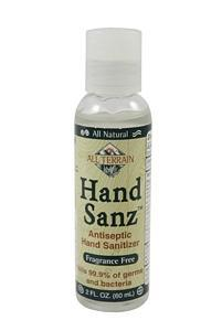 Hand Sanz - Fragrance Free - 2 oz