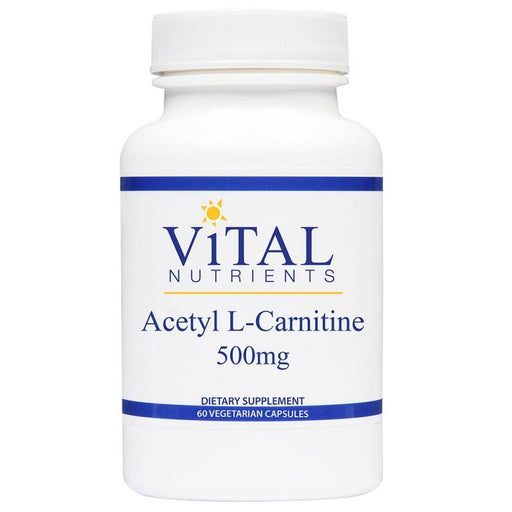 Acetyl L-Carnitine 500 mg - 60 Vegetarian Capsules
