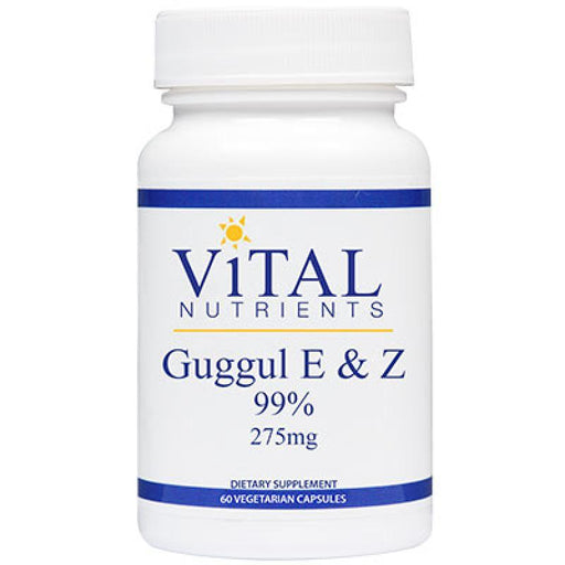 Guggul E & Z Extract 99% 275 mg - 60 Capsules
