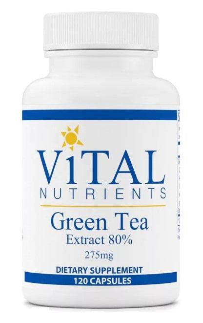 Green Tea Extract 275 mg - 120 Capsules